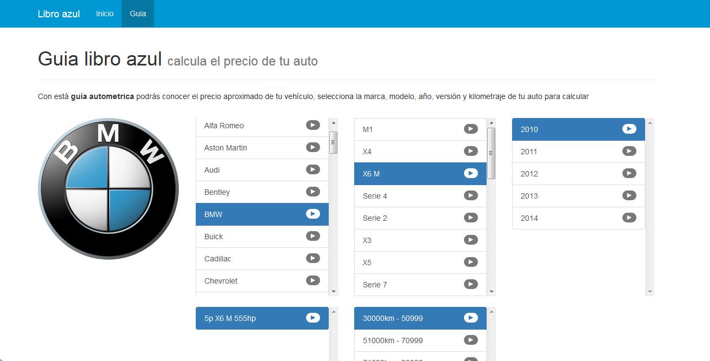 Guia Autometrica Libro Azul Online